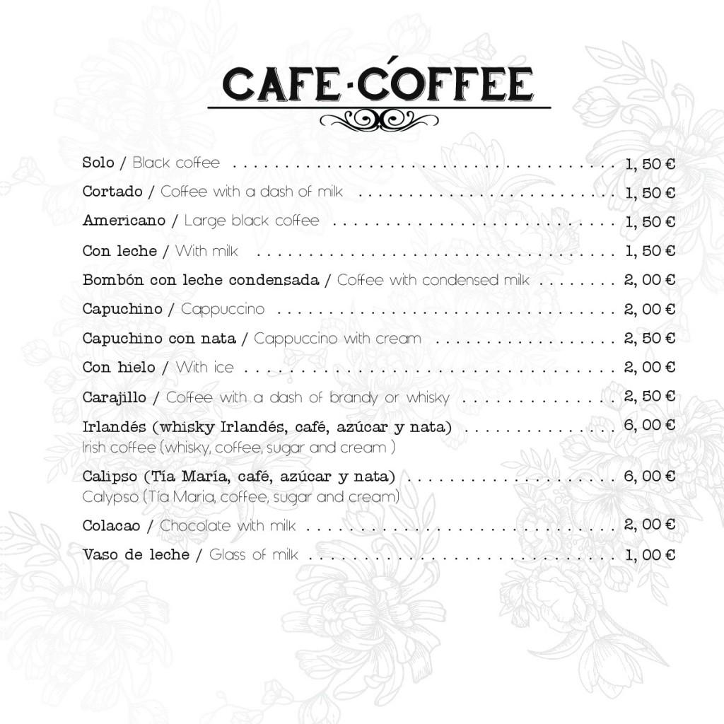 carta bar don reinaldo.café