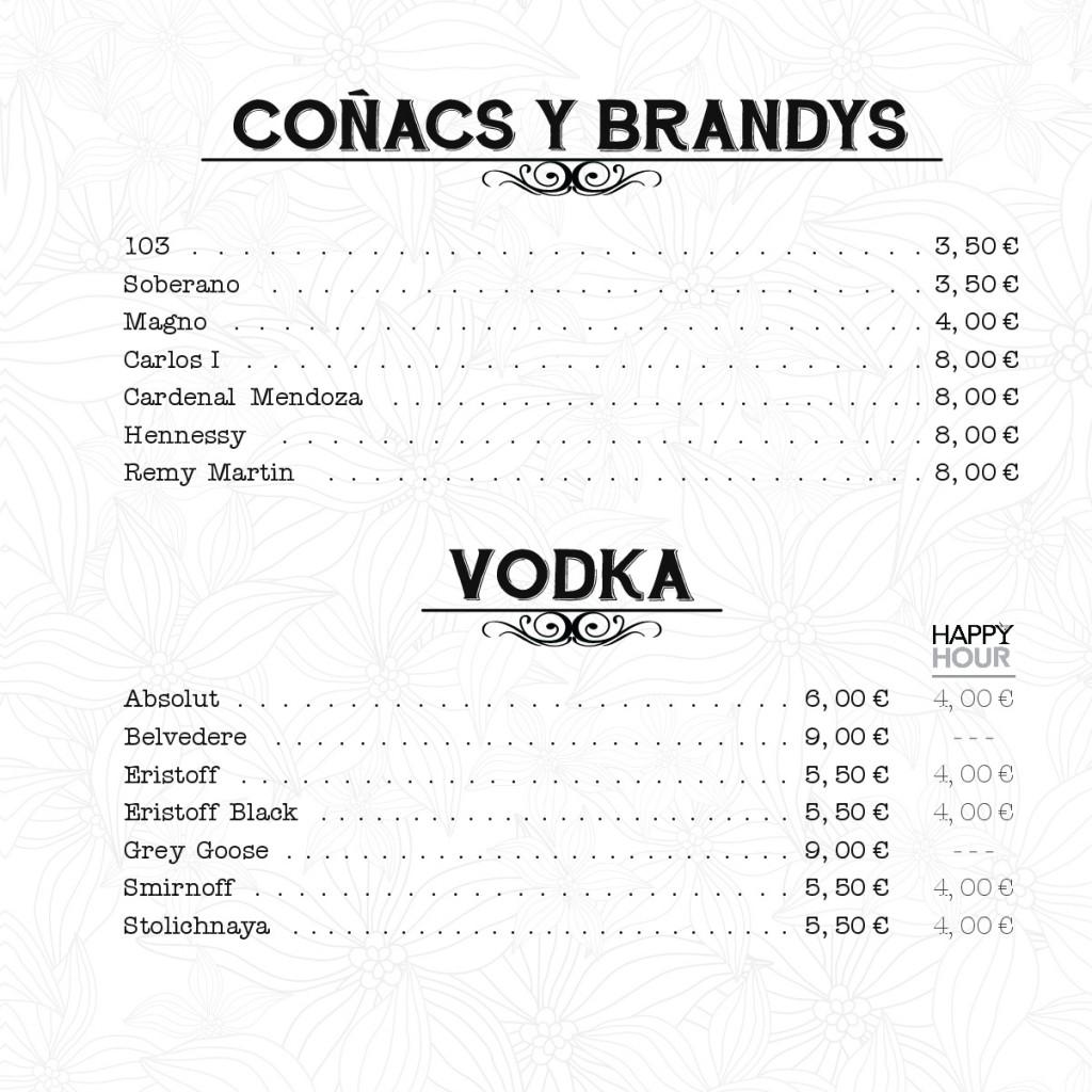 Coñacs y brandys